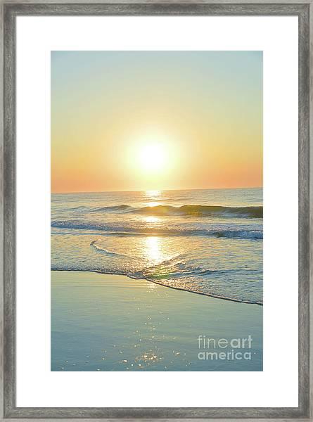 Reflections Meditation Art Framed Print