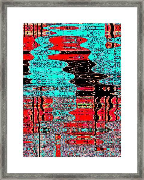 Reflections Number 1 Framed Print by Teodoro De La Santa