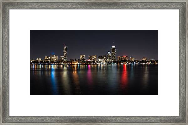 Reflections Of Boston Framed Print
