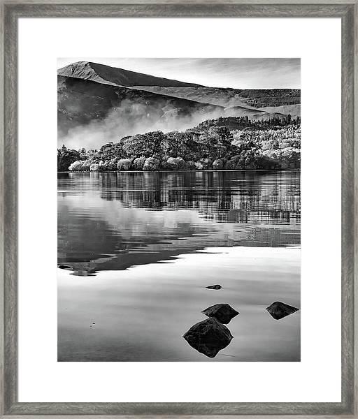 Reflections Of Derwent Framed Print