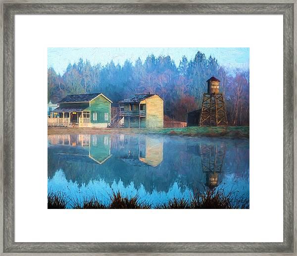 Reflections Of Hope - Hope Valley Art Framed Print