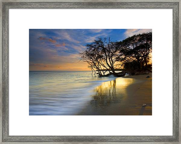 Reflections Of Paradise Framed Print