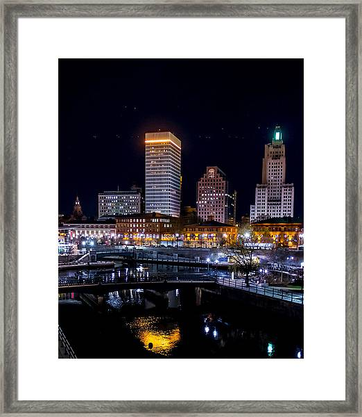 Reflections Of Providence Framed Print