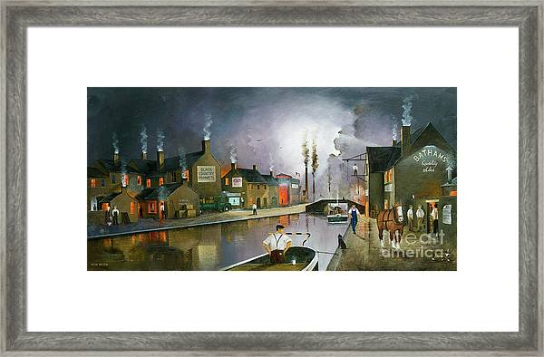 Reflections Of The Black Country Framed Print