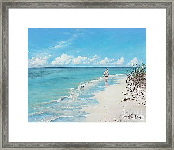 Reflections Of Tiger Tail Framed Print