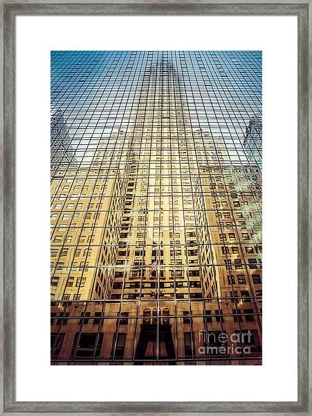 Reflective Empire Framed Print