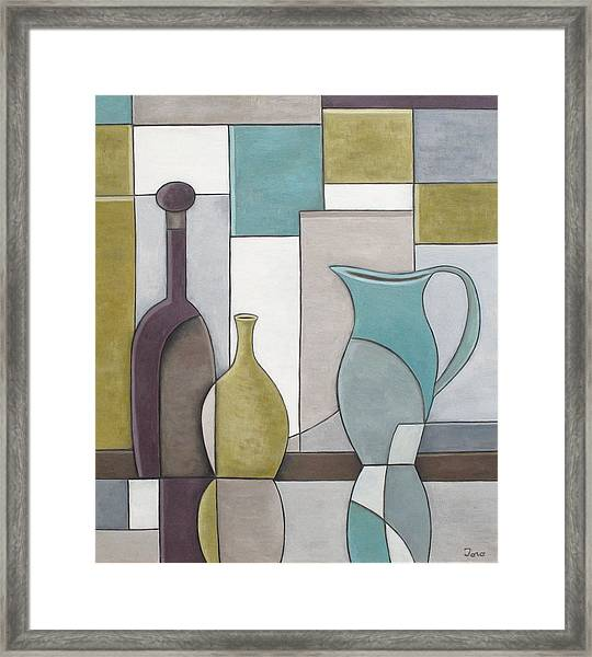 Reflectivity Framed Print