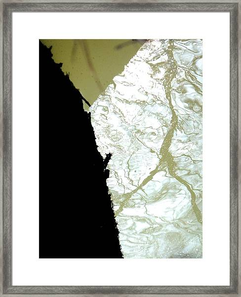 Reflets Impossibles Framed Print