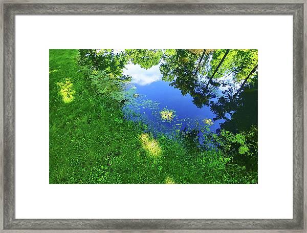 Reflex One Framed Print