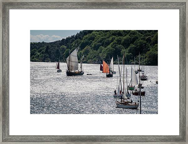 Regatta Time Framed Print