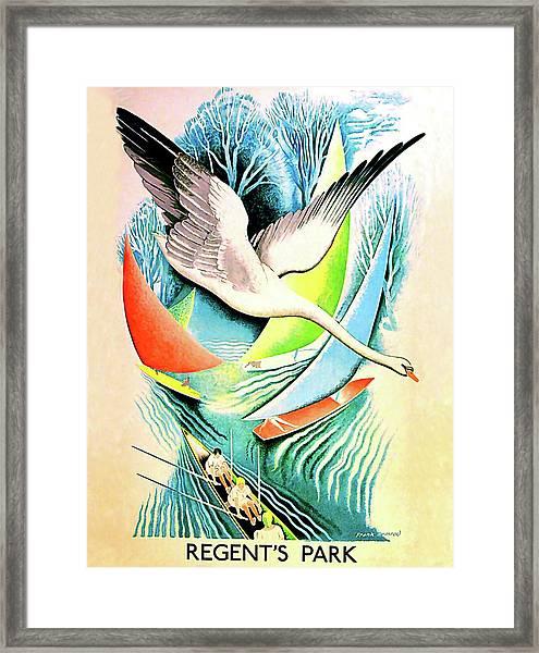 Regent Park Framed Print