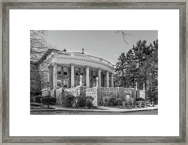 Regis College  Framed Print by University Icons