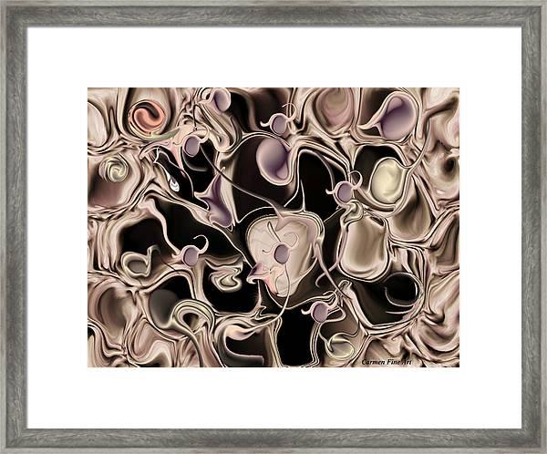 Reincarnated Emotion Framed Print