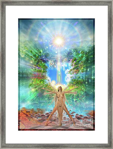 Rejoice-thy-young II Framed Print