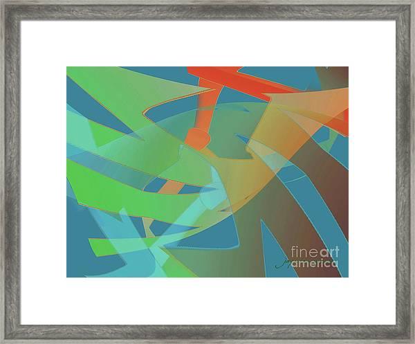 Relationship Dynamics Framed Print