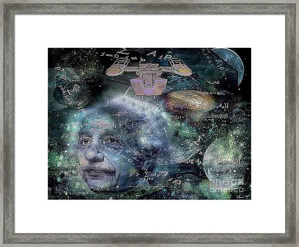 Relatively Speaking Framed Print by Eleni Mac Synodinos