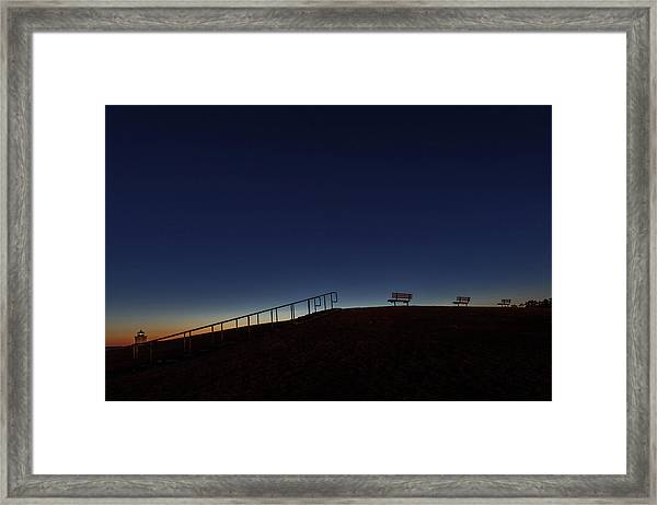 Relaxing Morning Framed Print