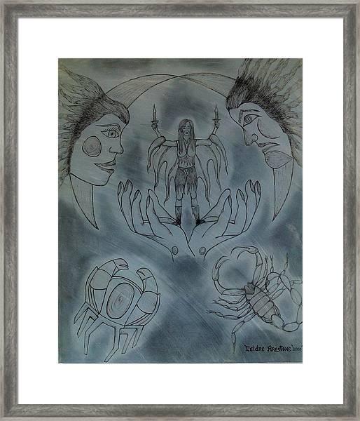 Release Me Framed Print by Deidre Firestone