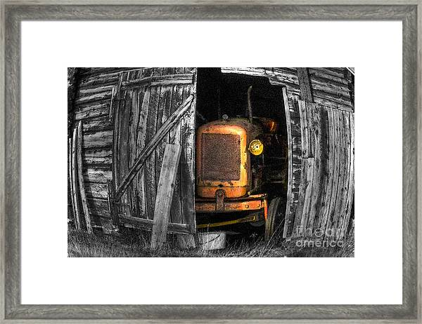 Relic From Past Times Framed Print