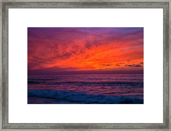 Remains Of Day Framed Print
