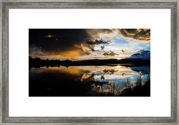 Remains Untrusted Framed Print