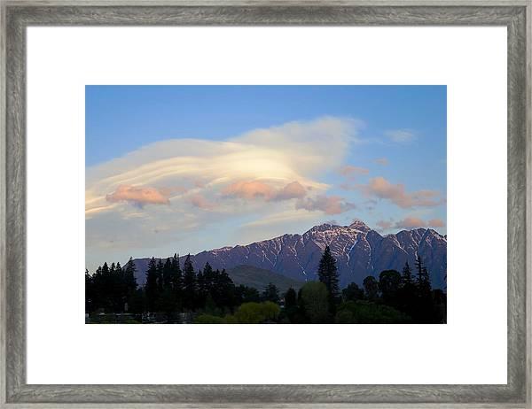 The Remarkables Framed Print