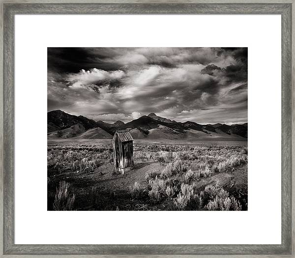 Remote Necessities Framed Print