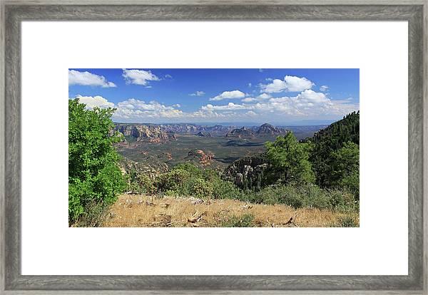 Remote Vista Framed Print