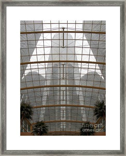 Rencen From Within Framed Print