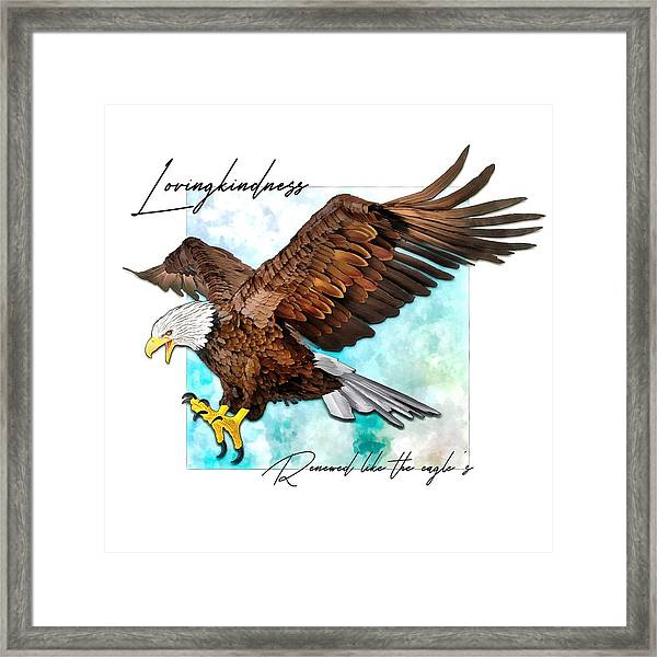Renewed Like The Eagle's Framed Print
