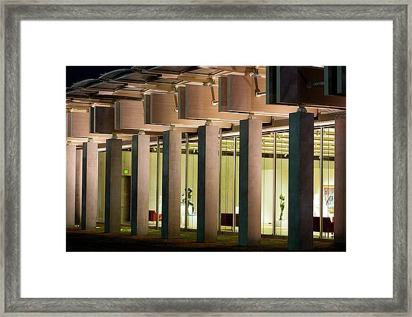 Renzo Piano Building Kimball Museum Framed Print