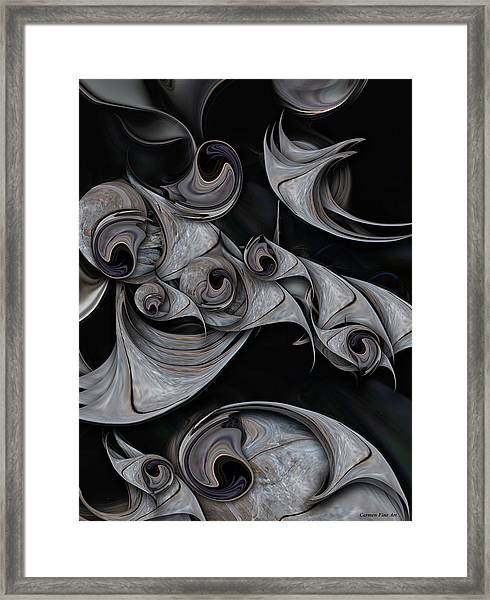Repressed Reality Framed Print