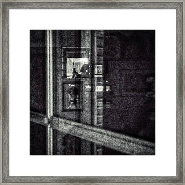 Requetereflected Selfportrait #selfie Framed Print