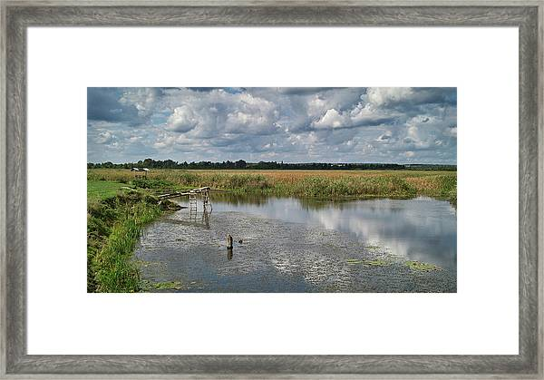 Rest In A Rural. Valky, 2013. Framed Print