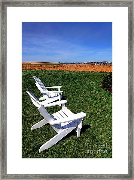 Resting Away Framed Print