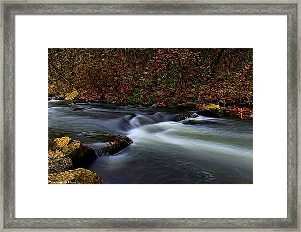 Resting By The Water Framed Print