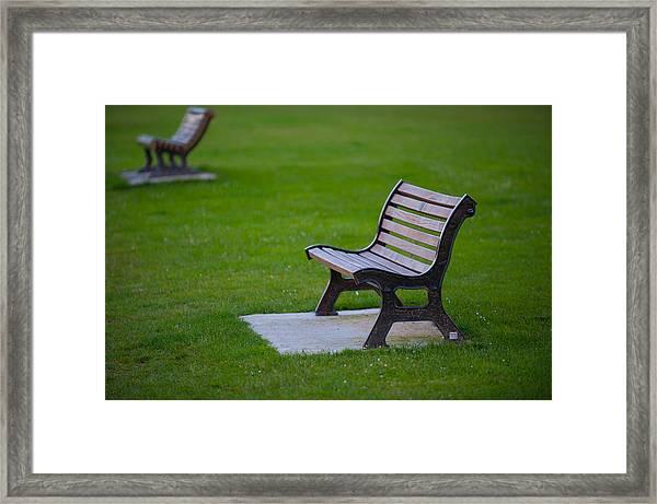 Resting Place Framed Print