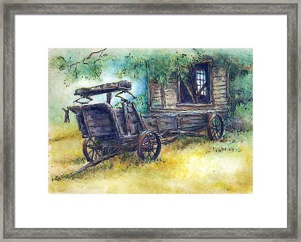 Retired At Last Framed Print