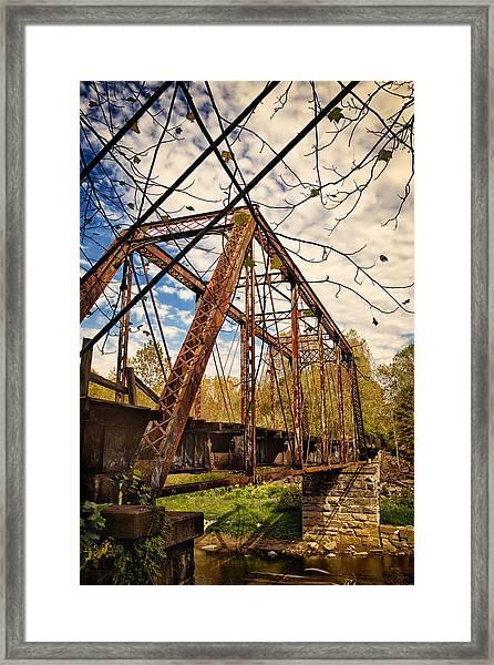 Retired Trestle Framed Print