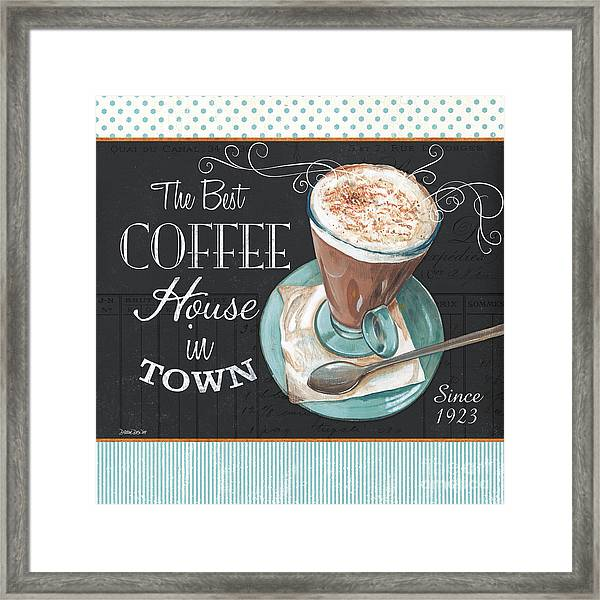 Retro Coffee 2 Framed Print