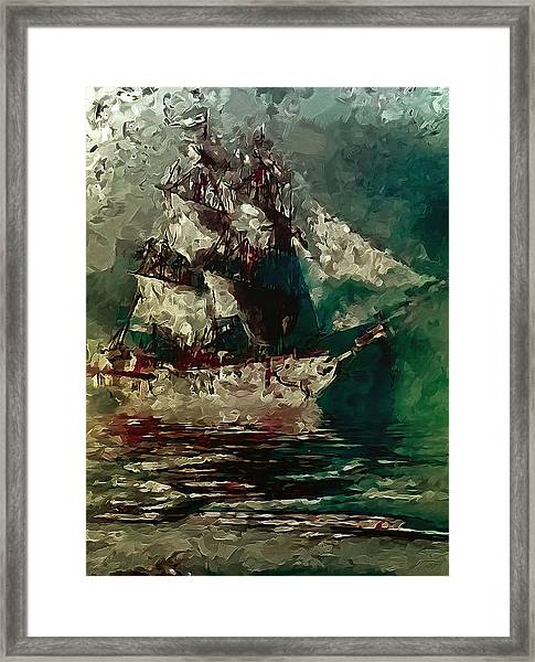 Return Of The Flying Dutchman Framed Print