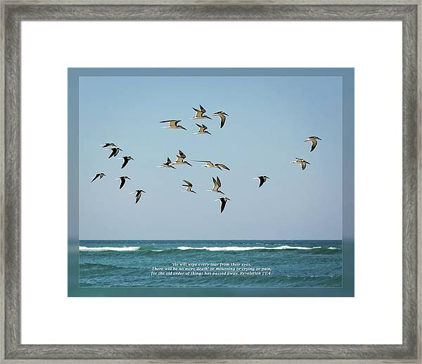 Revelation 21 4 Framed Print