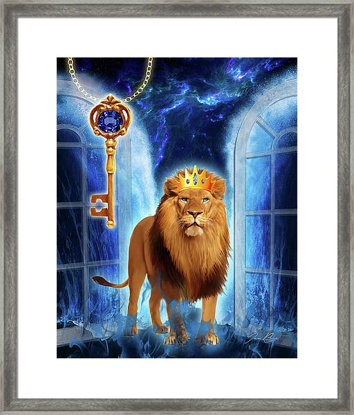 Revelation Gate Framed Print