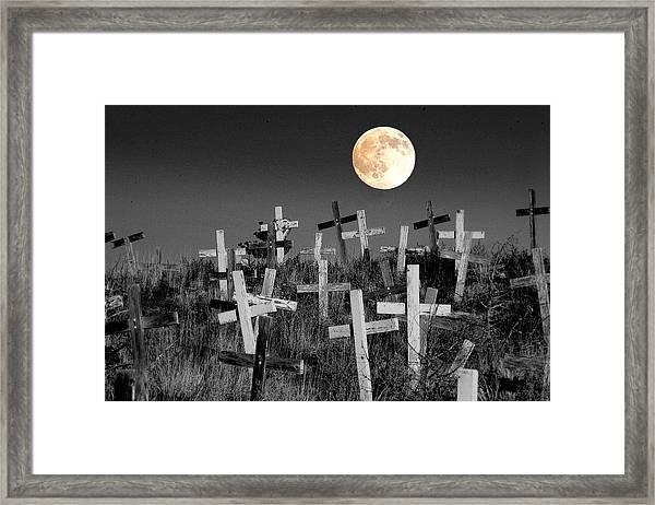 Reverent Moonlight.... Framed Print