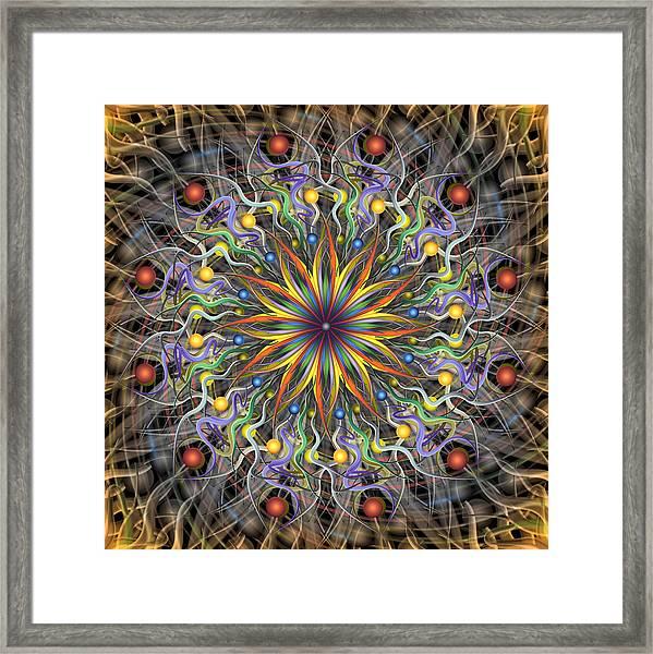 Reverse Cosmosis Framed Print