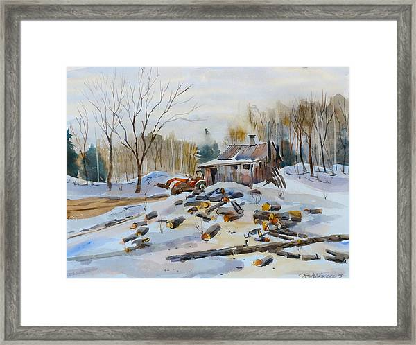 Reynold's Sugar Shack Framed Print