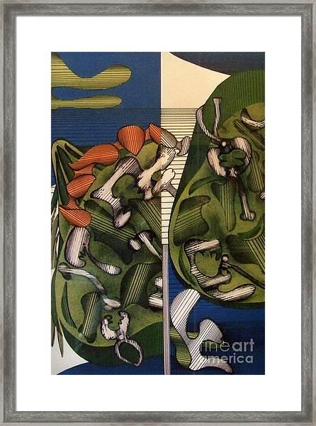 Rfb0105 Framed Print