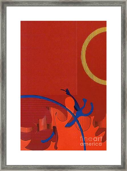 Rfb0118 Framed Print