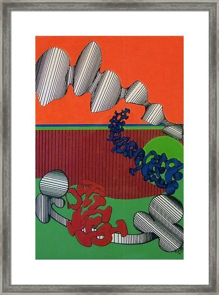 Rfb0124 Framed Print