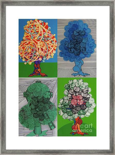 Rfb0502-0505 Framed Print